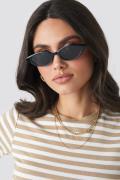 NA-KD Accessories Drop Shape Cat Eye Sunglasses - Black