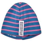 Geggamoja Premature Cap Marine And Pink 40 (2-4 mnd)