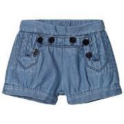 Chloé Blue Sailor Denim Shorts 6 months
