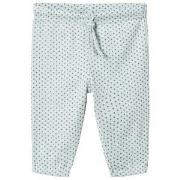 Noa Noa Miniature Cloud Blue Cross Print Pants 6M