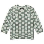 Little LuWi Green Snake Oversized T-Shirt 86/92 cm