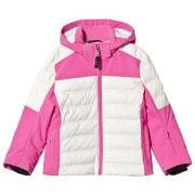 Bogner Pink & White Demi-D Ski Jacket M (6-7 years)