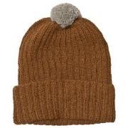 Huttelihut Baby Knitted Hat Ribbed Oak 12-18 mnd