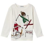Dolce & Gabbana White Skiing Long Sleeve Tee 2 years