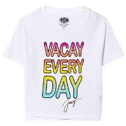 Juicy Couture White Vacay Every Day Tee 6-7 years