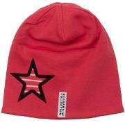 Geggamoja Star Fleece Beanie Red 56 cm