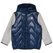 adidas Originals Navy Small Logo Padded Jacket 9-12 months (80 cm)