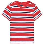 Tommy Hilfiger Stripe Tee Red 92 (18-24 months)